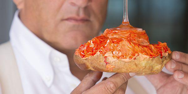 Tip van de chef, oranje soezen