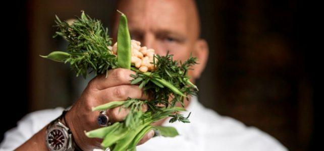 Herman den Blijker over witte bonen salade